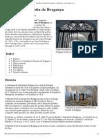 Panteão Da Dinastia de Bragança – Wikipédia, A Enciclopédia Livre