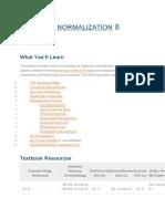 DATABASE NORMALIZATION 8