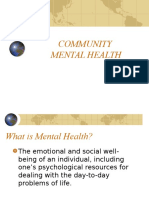 Hsci 431 Community Mental Health