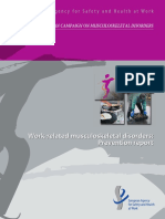 An European Campaign on Musculoskeletal Disorders