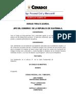Código Procesal Civil y Mercantil (1963)