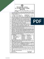 Revised Advt. 53 Convocation Shivaji University
