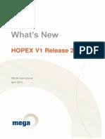 Mega Whats New Hopex v1r2 2014 En