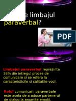 Ce Este Limbajul Paraverbal?