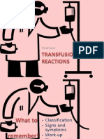 10. Transfusion Reactions