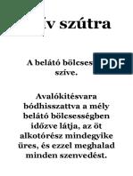 Szív Szútra - rövid változat