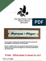 Player Manual 15-16