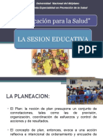 La Sesion Educativa