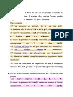 Repaso Combinatoria Mas Distribuciones de Probabilidad