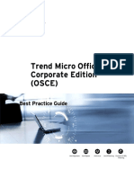 Trend Micro OfficeScan Corporate Edition (OSCE)