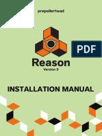 Reason 9 Installation Manual