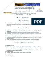 Plano de Curso-Língua Portuguesa-2016