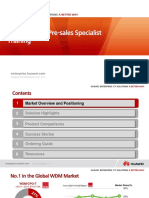 02-HUAWEI OTN Pre-sales Specialist Training V1.0