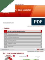 02-HUAWEI OTN Pre-sales Specialist Training V1.0