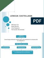 RUBY RINCÓN SEMESTRE 1-A programa de formación complementaria. Curso Investigación ..exposicion de LINEAMIENTOS CURRICULARES  ESPAÑOL