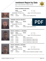 Peoria County Jail Booking Sheet for July 12, 2016