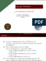 04 Lagrange Multiplier - Handout.pdf