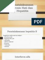 Penatalaksanaan Sirosis Hati Dan Hepatitis
