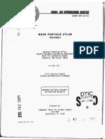 Atlas de Partículas de Desgaste 1982