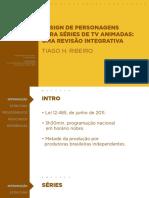 Design de Personagens para séries de TV animadas - uma revisão integrativa
