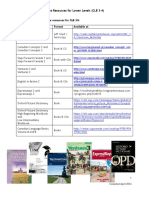 Resources for Lower Levels Getting Started With Teaching LINC 3 4 Core Resources