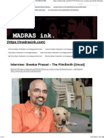Interview_ Sreekar Prasad – the FilmSmith [Uncut] _ MADRAS INK