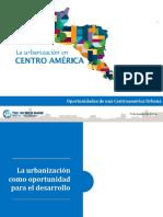 1. Presentación - Estudio de La Urbanización en Centroamérica