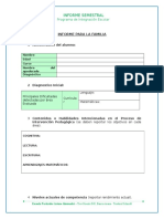 Informe Semestral Familia Pie Alessandri