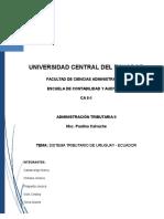 LEGISLACIÓN TRIBUTARIA URUGUAY - ECUADORtaria Uruguay - Ecuador