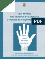 Guia Tecnica Exposicion Factores Riesgo Ocupacional