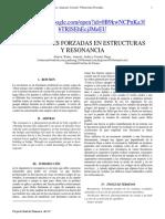 Resonancia Mecanica en edificios (sismos)