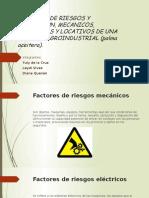 Factores de Riesgos y Prevencion, Mecanicos,