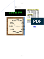 Analog Clock Chart