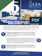 FIN 10 Tips Para Clase Interactiva Con Tecleras DOCENTES