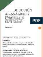Clase 1_ Introduccion Al Analisis y Diseño de Sistemas