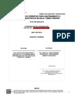 Mantto a Motores Elec en Baja y Media Tension Version 1 26 Mayo 2016....