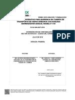 Io-sa-ma-0007-2016 Barrenos en Tub. Transp. Hidrocarburos Con Maq. Barrenadora Manual T-101
