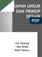 PPT Unsur Dan Prinsip Desain