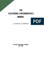 The Electronic Experimenter's Manual - David Findlay, 1959.pdf
