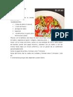 BasePizza Atun