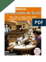 Abre Tu Negocio de Restaurante de Sushi