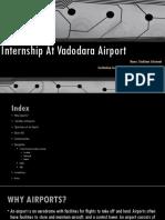 Internship at AAI Baroda