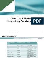 CCNA 1 Mod 2-Networking Fundamentals