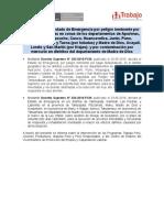 Intervenciones Vmpecl Ds 033 y 034-2016-Pcm v.1