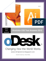 ODesk Illustrator CS3 Test Answers 2012 Www.rafiqbamna.blogspot