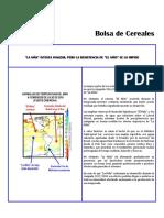 Informe Estacional Clima Bolsa Cereales