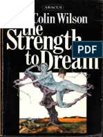 Colin Wilson Strength to Dream