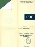 Mead, Margated  Sexo y temperamento en las soceidades primitivas.pdf