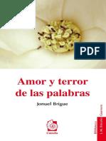Amor y Terror de Las Palabras (1)