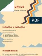 Usos Conflictivos Del Subjuntivo